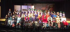 wonka curtain call photo